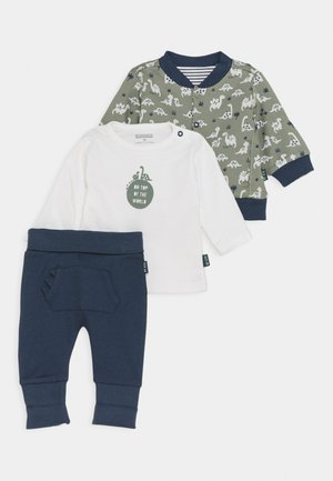 SET - Collegetakki - dark blue/khaki