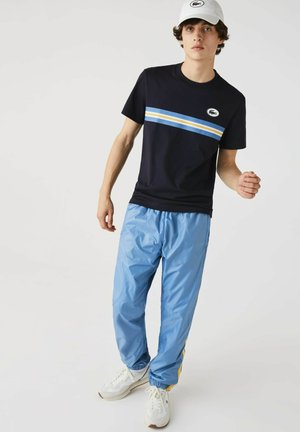 Print T-shirt - navy blau
