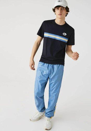 T-shirt print - navy blau