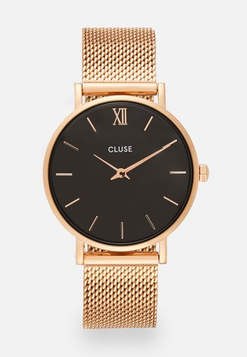 MINUIT - Watch - rose gold-coloured/black