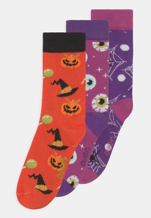 HALLOWEEN 3 PACK - Chaussettes - multi-coloured