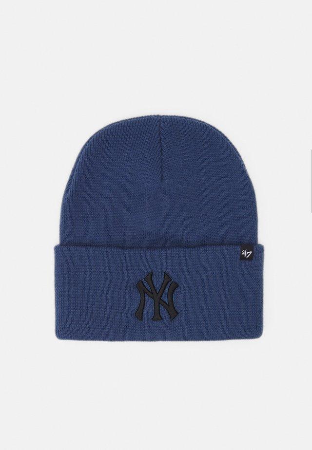 NEW YORK YANKEES HAYMAKER CUFF UNISEX - Berretto - timber blue