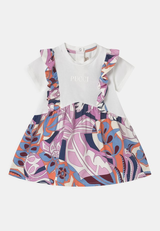 BABY - Robe en jersey - glicine/celeste