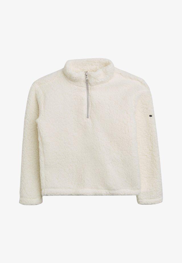 Fleece jumper - skin beige