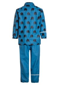 CeLaVi - RAINWEAR SUIT SET - Waterproof jacket - blue - 2