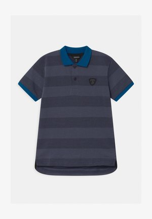 CONTRAST COLOR - Polo shirt - blue hera