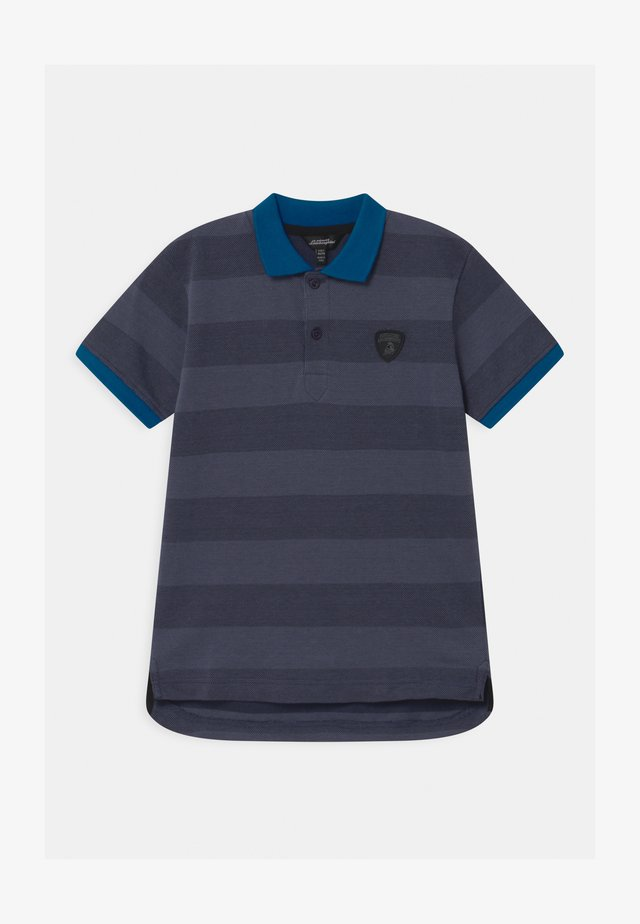 CONTRAST COLOR - Poloshirts - blue hera