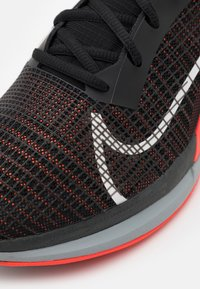 Nike Performance - ZOOMX SUPERREP SURGE - Sports shoes - black/white/bright crimson/pure platinum - 5