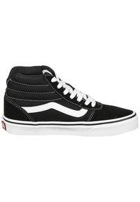 Vans - WARD HI - High-top trainers - black / white - 6