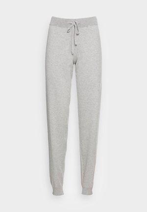VMEDITH PANTS - Trousers - light grey melange
