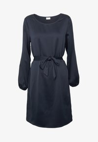 Vila - VILOPEZ BELT DRESS - Vestido informal - navy blazer - 4