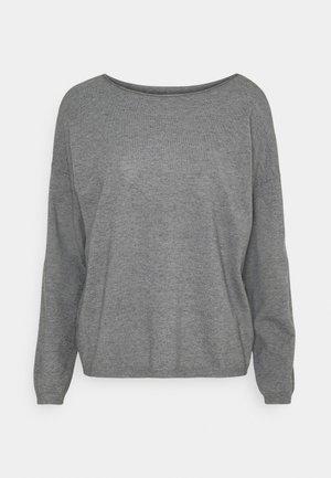 VITALLI BOATNECK - Jumper - mottled light grey