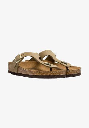 T-bar sandals - faded khaki