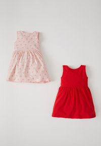 DeFacto - 2 PACK - Day dress - red - 1