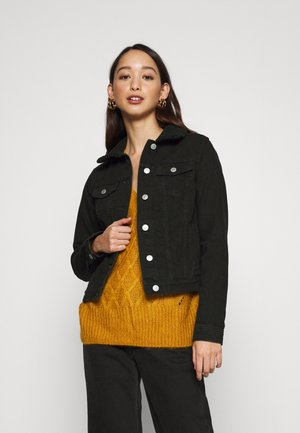 BORG JACKET MELISSA - Giacca di jeans - black
