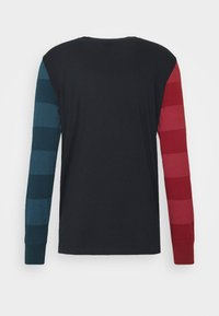PS Paul Smith - Top sdlouhým rukávem - dark blue/red/green - 1