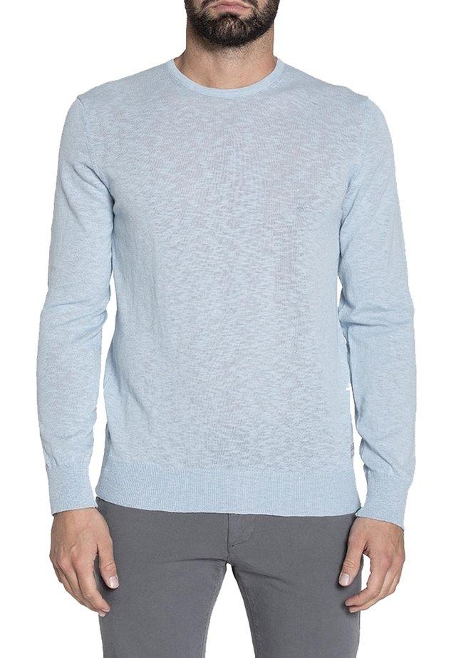 Maglietta a manica lunga - azzurro