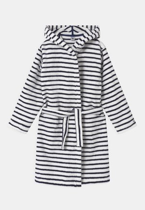 STRIPE HOODED  - Dressing gown - lait/medieval
