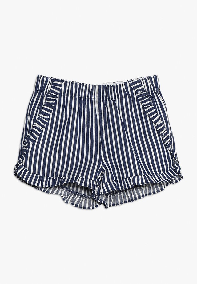 STRIPED ELSA - Shorts - blue