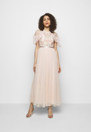 EMMA DITSY BODICE DRESS - Vestido de fiesta - strawberry icing