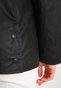 Barbour - BEADNELL WAX JACKET - Waterproof jacket - sage - 6