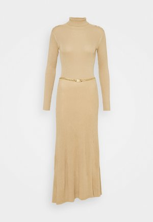 Jumper dress - camel
