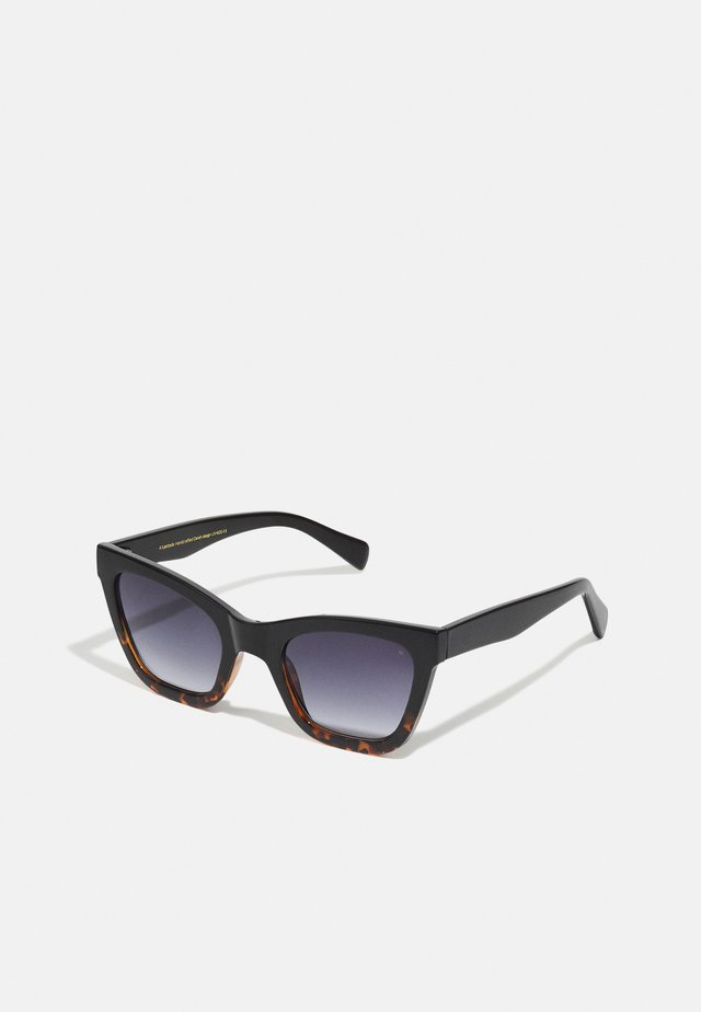 BIG  - Sunglasses - black/demi tortoise