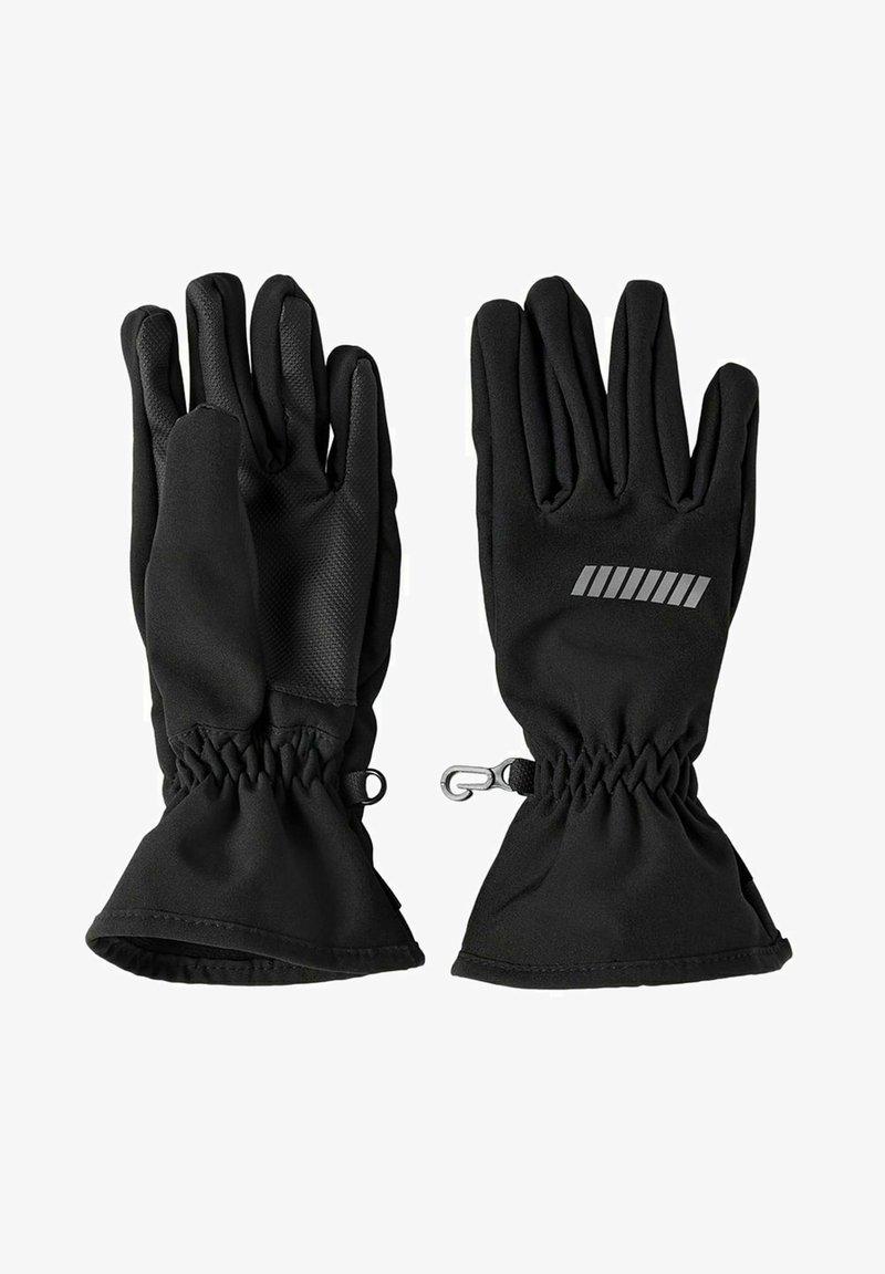 Name it - ALFA SOFTSHELL - Gloves - black