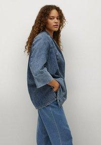 Violeta by Mango - Denim jacket - mittelblau - 5