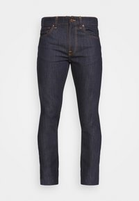 Nudie Jeans - LEAN DEAN - Džíny Slim Fit - dry ecru embo - 3