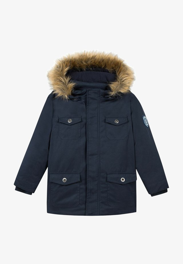 Winterjas - marine blue