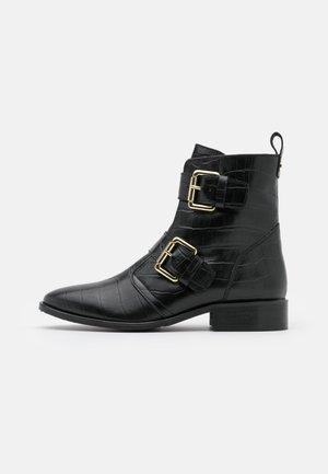 MELODI - Cowboy/biker ankle boot - black