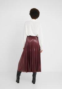 Marella - SUPER - A-line skirt - bordeaux - 2