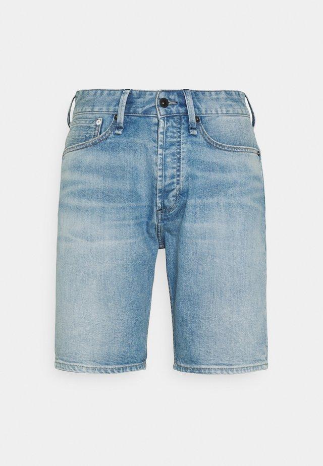 CROP - Jeansshort - blue