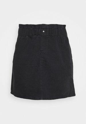 NMJUDO PAPBACK SKIRT - A-line skirt - black