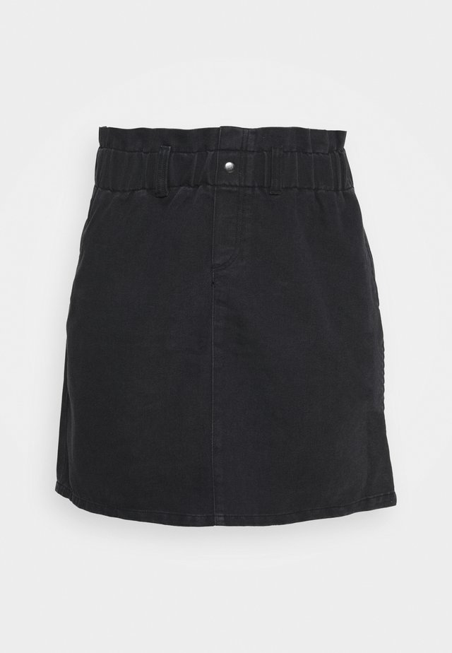 NMJUDO PAPBACK SKIRT - Gonna a campana - black