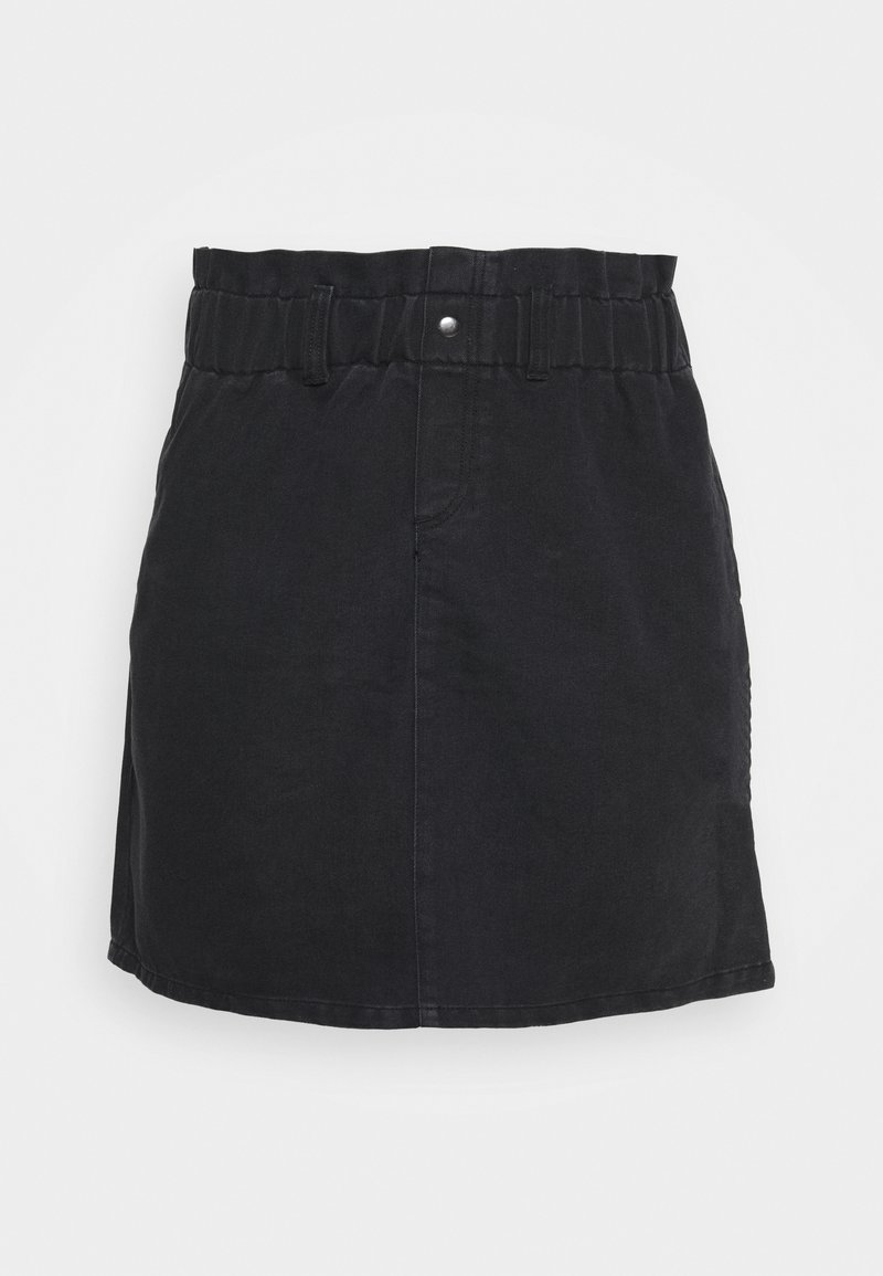 Noisy May Curve - NMJUDO PAPBACK SKIRT - A-line skirt - black