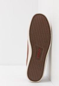 Polo Ralph Lauren - ASHINA LONGWOOD UNISEX - Sneakersy niskie - tan - 4