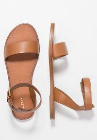 ALDO - CAMPODORO - Sandals - cognac - 3