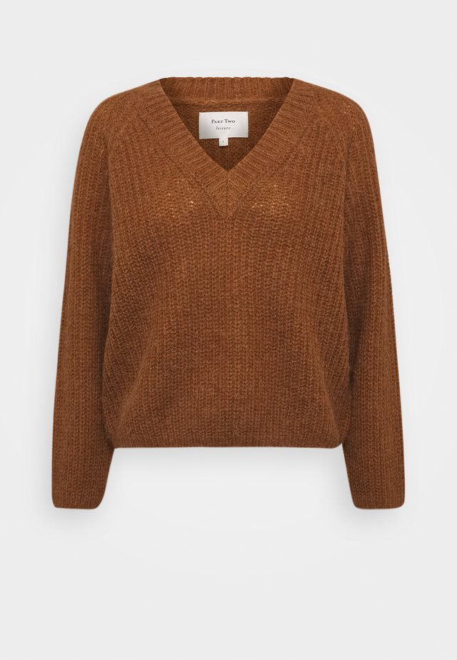 EVI - Jumper - hazel brown