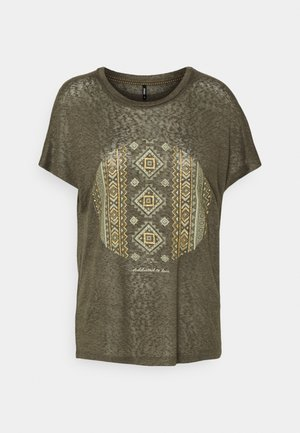 ONLPIPER - T-shirt z nadrukiem - kalamata
