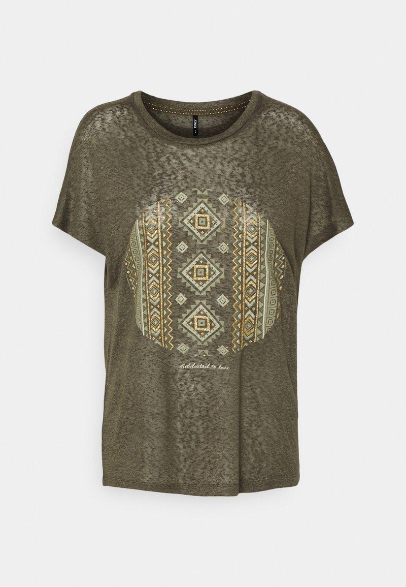 ONLY - ONLPIPER - T-shirts med print - kalamata