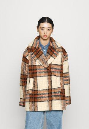 YASINSTI JACKET - Summer jacket - brown