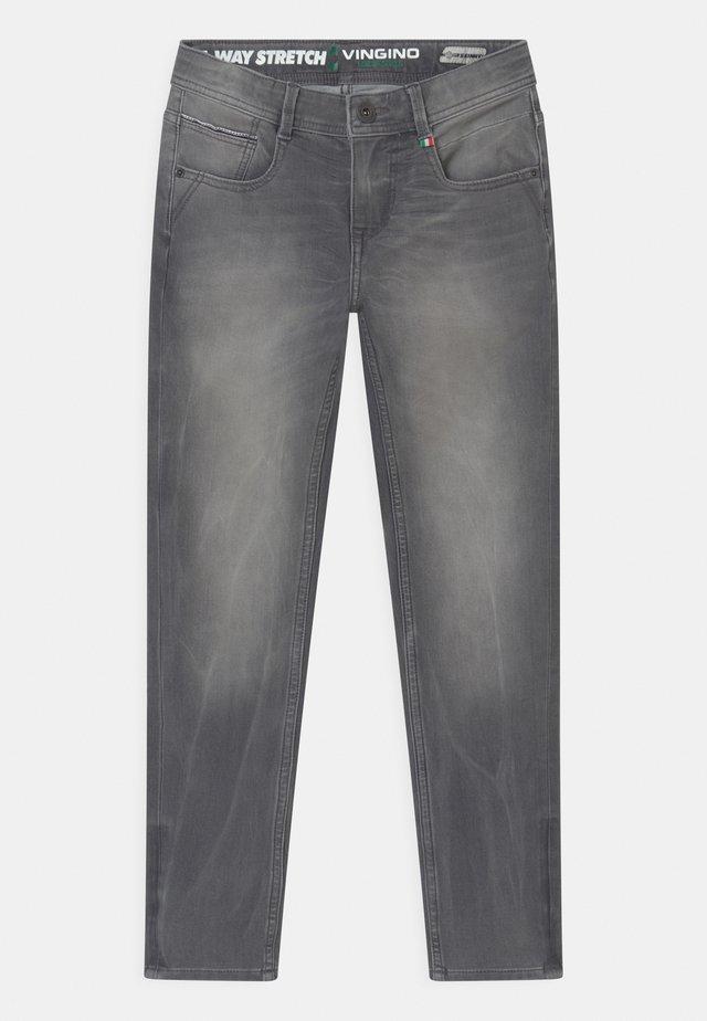 ALFONS - Jean slim - light grey