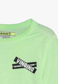 Vingino - HIXX - Print T-shirt - neon green - 4