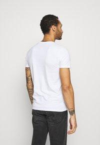 Hollister Co. - CREW 7 PACK - T-shirt basic - white/black/grey siro/navy - 2