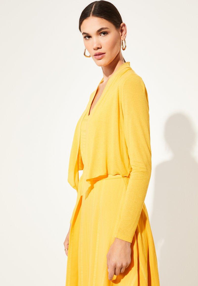 comma - Cardigan - yellow
