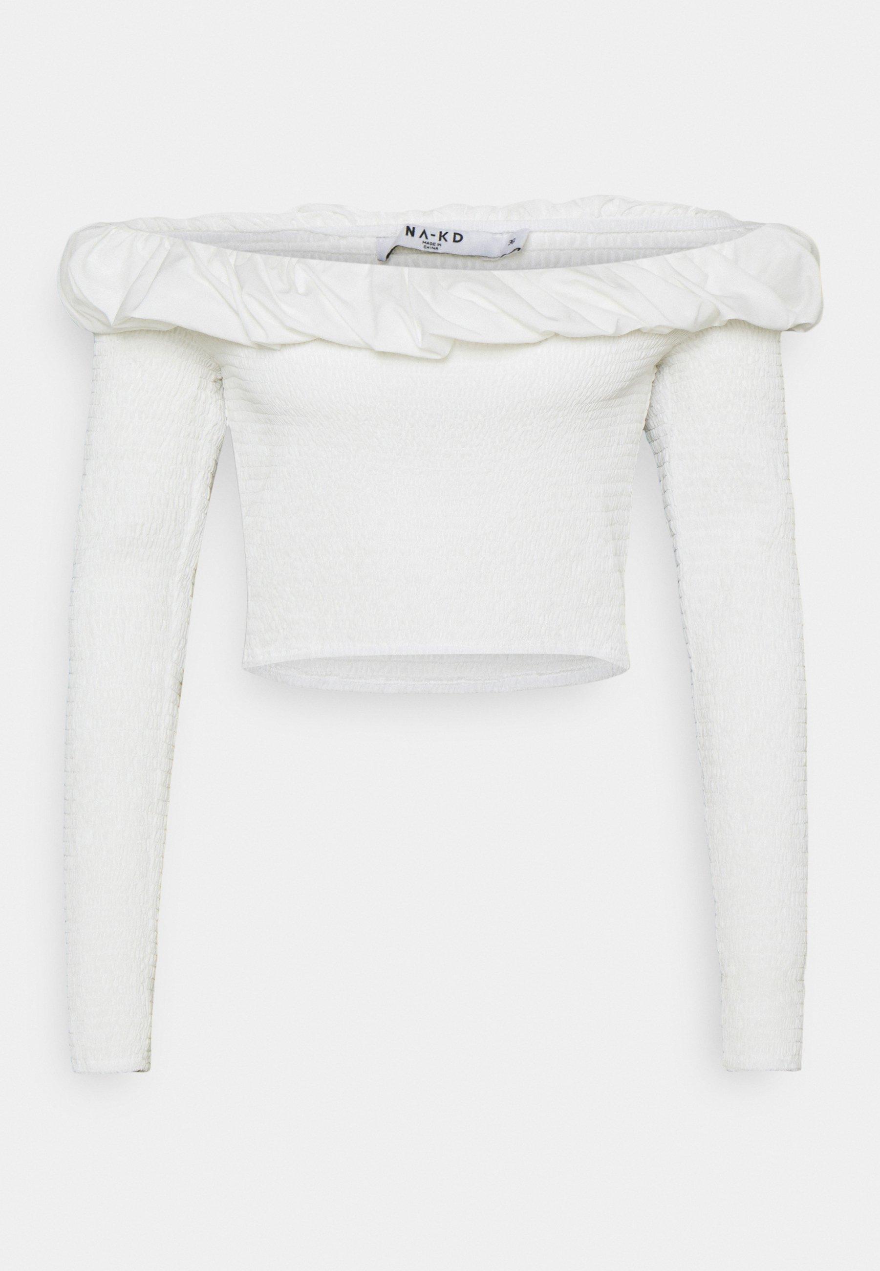 Women OFF SHOULDER  - Long sleeved top