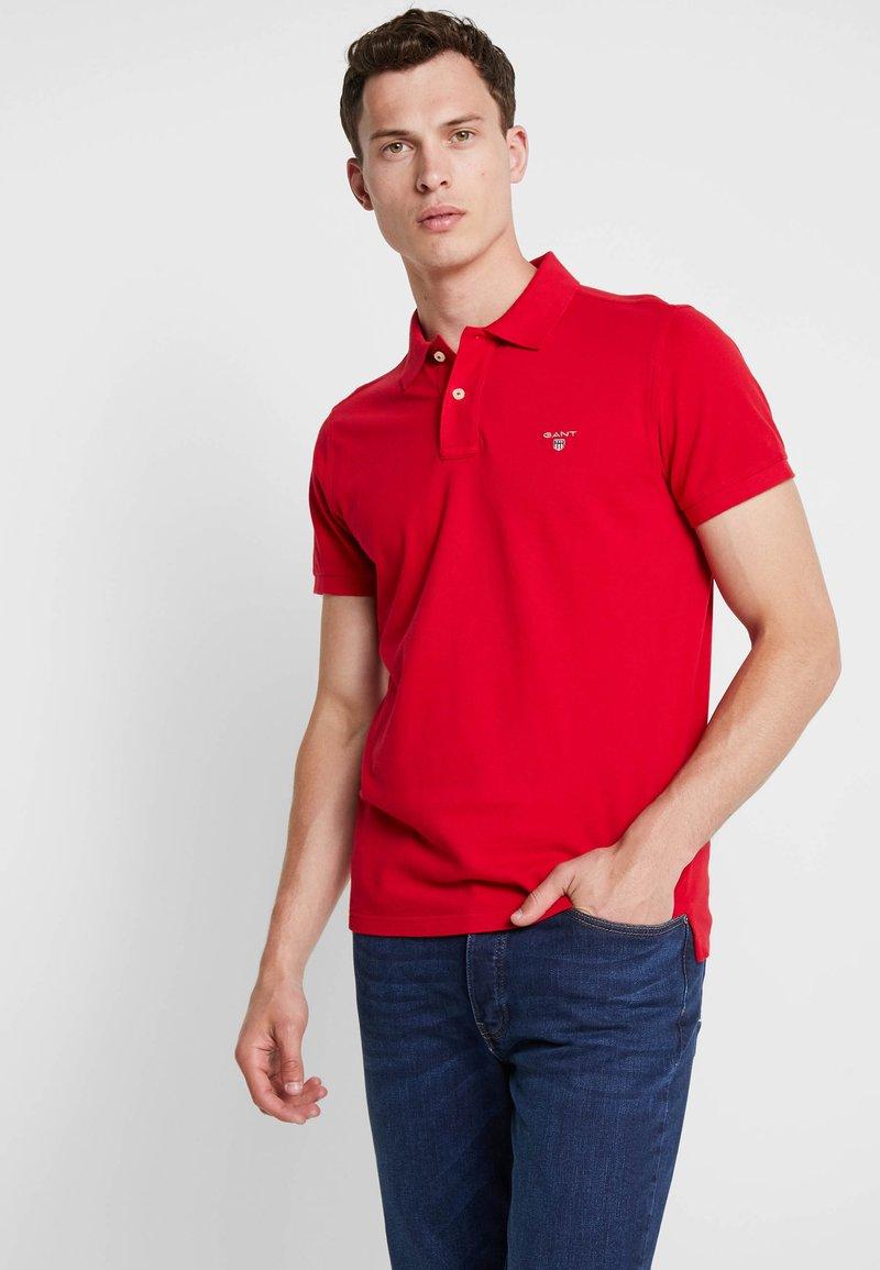 GANT - THE ORIGINAL RUGGER - Polo - red