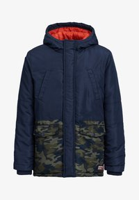 WE Fashion - MET COLOURBLOCK - Winter jacket - dark blue - 2
